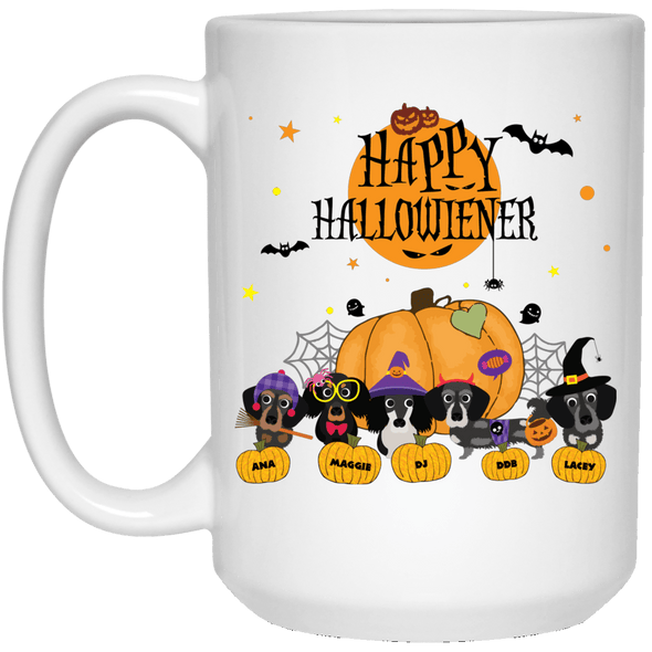 Personalized Happy Hallowieners 15 oz. Ceramic Mug