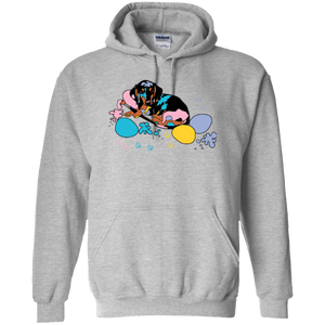 Easter Dachshund 50/50 Pullover Hoody