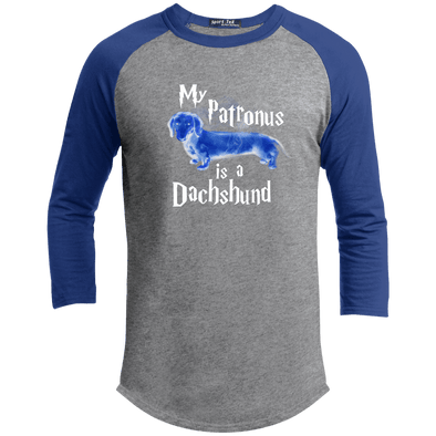 My Patronus Is A Dachshund Baseball Shirt