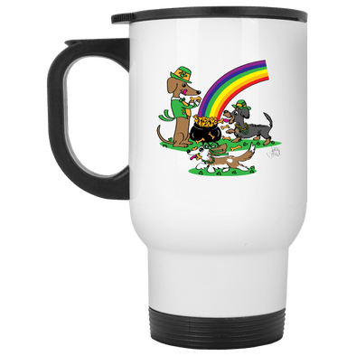 Pot O' Bones Stainless Steel Travel Mug