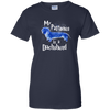 My Patronus Is A Dachshund Ladies' 100% Cotton T-Shirt