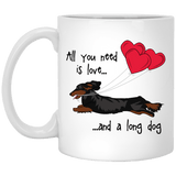 All You Need Is Love LH (B&T) 11 oz. Ceramic Mug