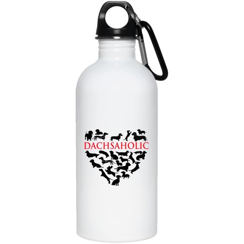 Dachsaholic 20 oz. Stainless Steel Water Bottle