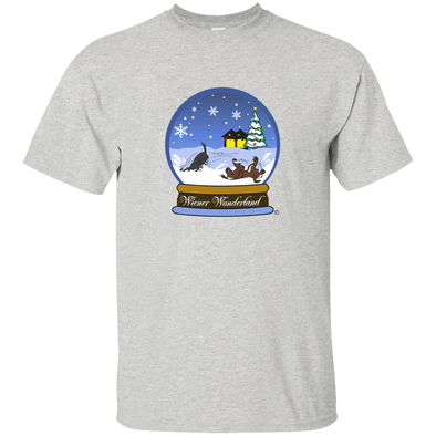 Snow Globe Christmas Unisex Ultra Cotton T-Shirt