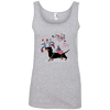 Patriotic Smooth B&T Ladies' 100% Ringspun Cotton Tank Top