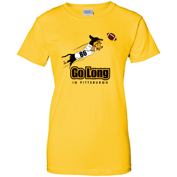 Go Long in Pittsburgh Ladies' T-Shirt
