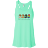 Love Is Love - CATS Bella+Canvas Flowy Racerback Tank