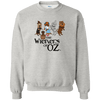 Wieners of Oz 50/50 Crewneck Pullover Sweatshirt  8 oz