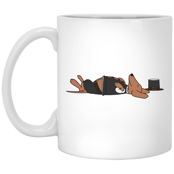 Stuffed Sausage Dog 11 oz. Ceramic Mug