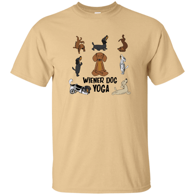 Wiener Dog Yoga Unisex Ultra Cotton T-Shirt