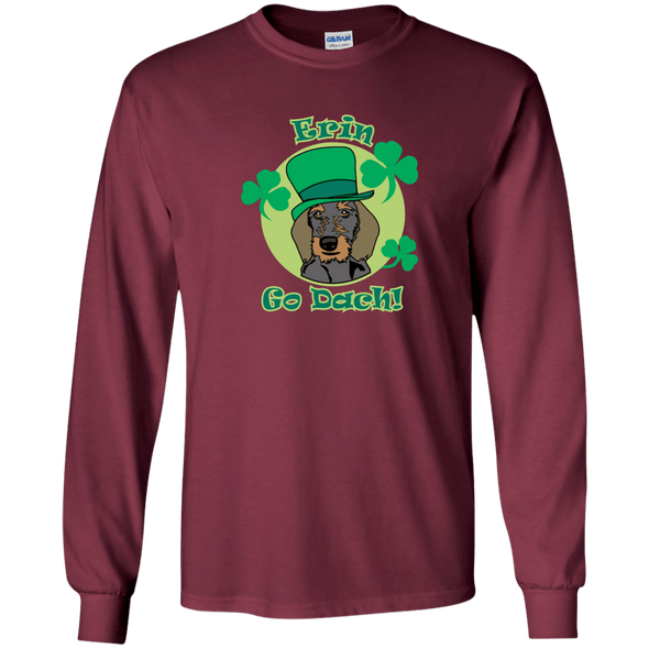 Erin Go Dach (WH) LS Ultra Cotton T-Shirt