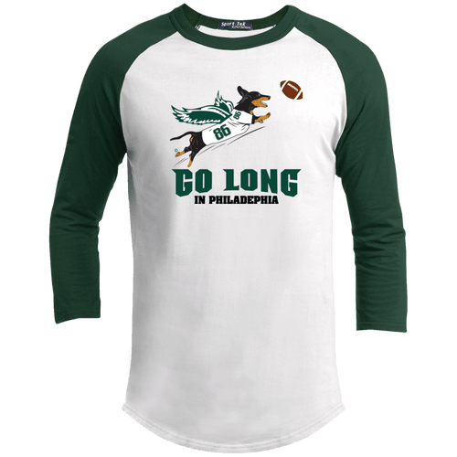 Go Long in Philadelphia 100% Cotton Baseball Jersey