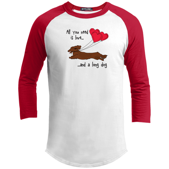 All You Need Is Love LH (Red) Baseball Jersey