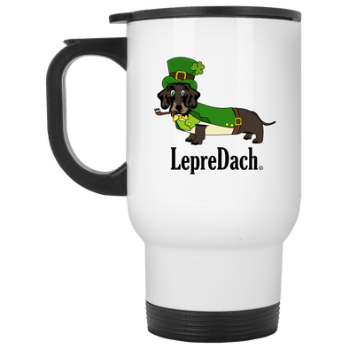 LepreDach 14 oz Stainless Steel Travel Mug