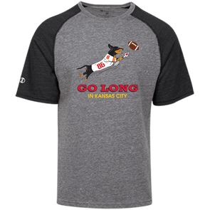 Go Long in Kansas City Tri-blend Heathered Shirt