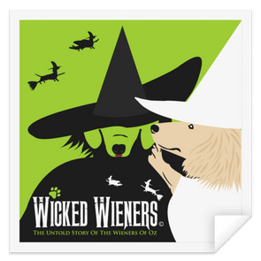 Wicked Wieners Sticker