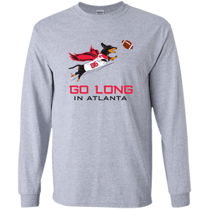 Go Long in Atlanta LS Ultra Cotton T-Shirt
