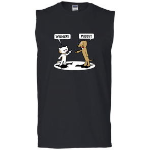 Wiener Pussy Men's Sleeveless T-Shirt