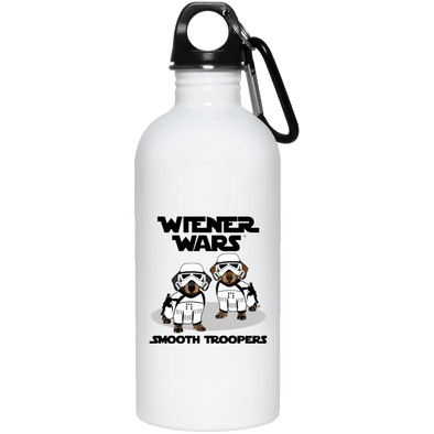 Wiener Wars Smooth Troopers 20 oz. Stainless Steel Water Bottle