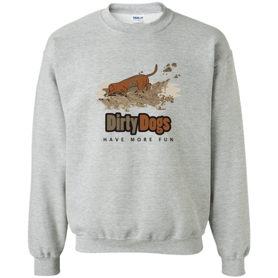 Dirty Dogs 50/50 Crewneck Pullover Sweatshirt