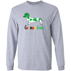 German-Irish LS Ultra Cotton Tshirt