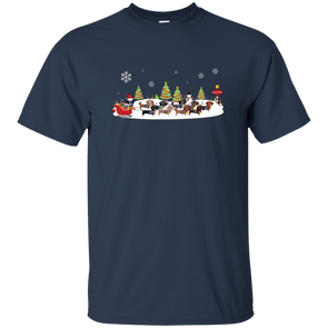 Santa's Reindachs Unisex Ultra Cotton T-Shirt