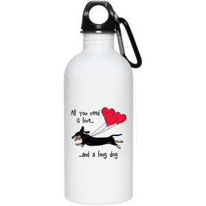 All You Need Is Love sh (B&T) 20 oz. Stainless Steel Water Bottle