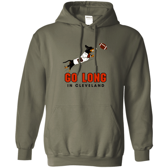 Go Long in Cleveland Pullover Hoody
