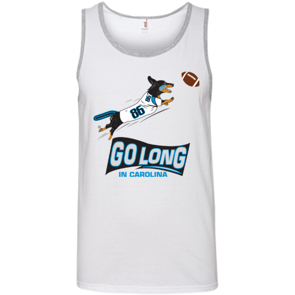 Go Long Carolina 100% Ringspun Cotton Tank Top