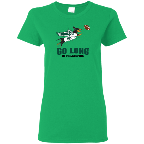 Go Long in Philadelphia Ladies' T-Shirt