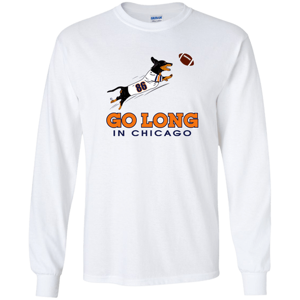 Go Long in Chicago LS Ultra Cotton T-Shirt