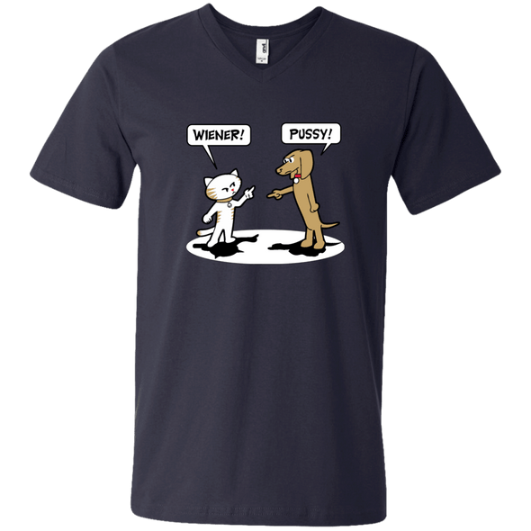 Wiener Pussy Men's V-Neck T-Shirt