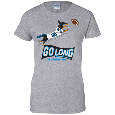 Go Long Carolina Ladies' 100% Cotton T-Shirt