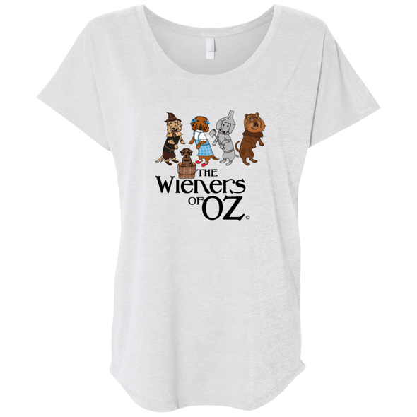 Wieners of Oz Next Level Ladies' Triblend Dolman Sleeve