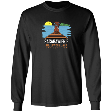 Sacagawienie (dark) LS Ultra Cotton T-Shirt