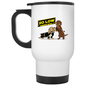 So Low 14 oz. Stainless Steel Travel Mug
