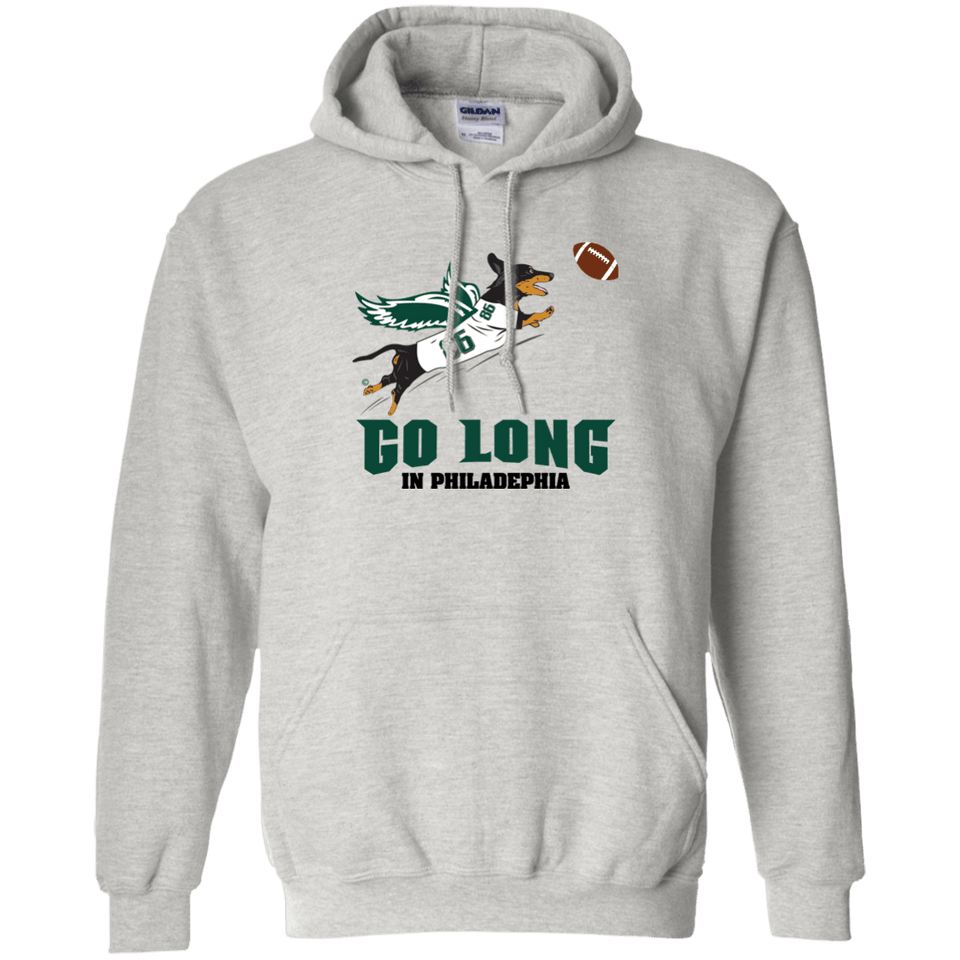 Go Long in Philadelphia Pullover Hoody