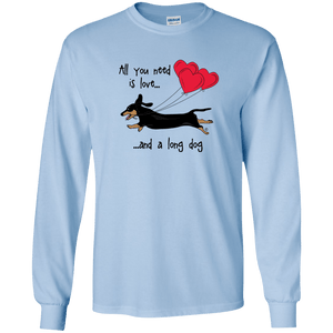 All You Need Is Love SH (B&T) LS Ultra Cotton T-Shirt
