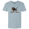 Hounds of Hades Men's Premium Fitted SS V-Neck