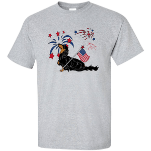 Patriotic Longhair B&T Ultra Cotton Unisex T-Shirt