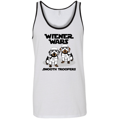Wiener War Smooth Troopers Unisex Tank