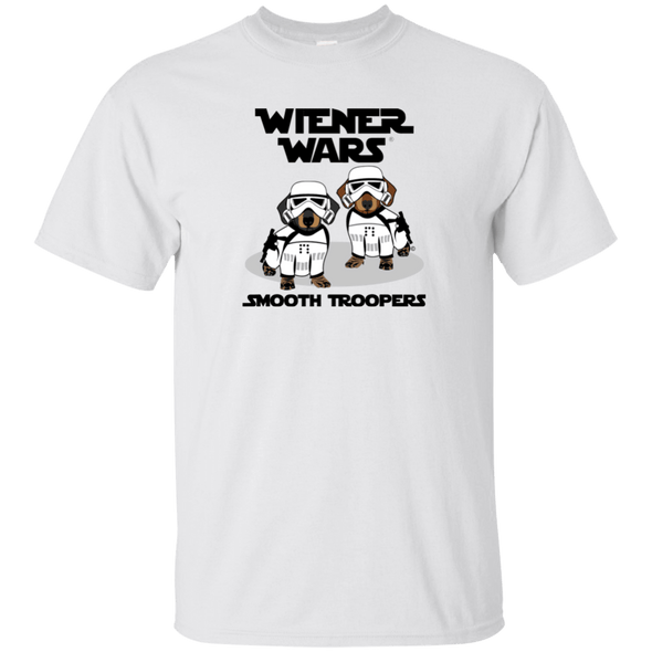Smooth Troopers White Shirt Ultra Cotton T-Shirt