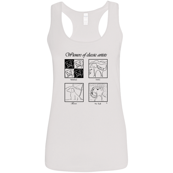 Classic Artists B&T SH Ladies' Softstyle Racerback Tank