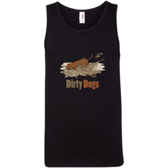 Dirty Dogs 100% Ringspun Cotton Tank Top