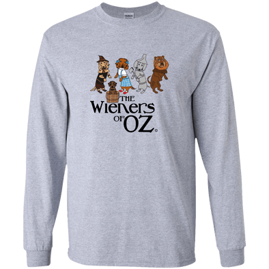 Wieners of Oz LS Ultra Cotton Tshirt