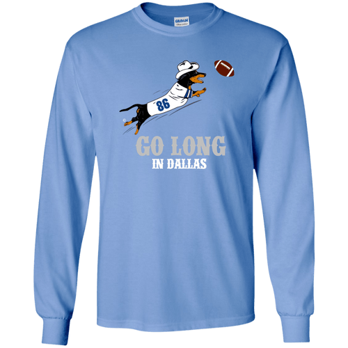 Go Long in Dallas Unisex LS Ultra Cotton T-Shirt