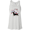Patriotic Smooth B&T Juniors' Flowy Racerback Tank