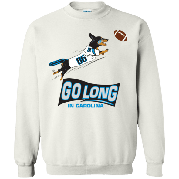 Go Long Carolina 50/50 Crewneck Pullover Sweatshirt