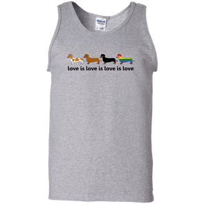 Love Is Love Unisex 100% Cotton Tank Top