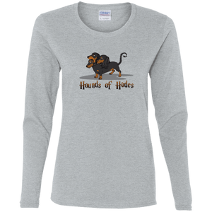 Hounds of Hades Ladies' Cotton LS T-Shirt